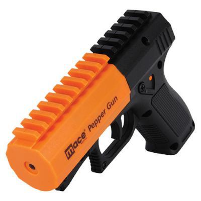 美国Mace梅西催泪器远距离防身防狼喷雾 橙橘色 Mace pepper gun 2.0