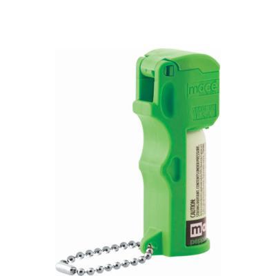 美国进口梅西口袋防狼喷雾剂带钥匙链-霓虹绿色